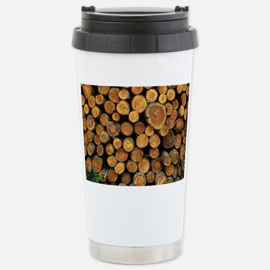 Logs - Stainless Steel Travel Mug