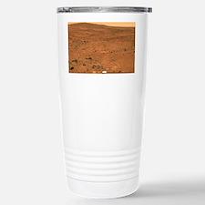 Martian landscape, Spirit rover image - Travel Mug