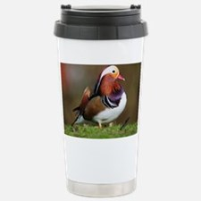 Male mandarin duck - Travel Mug