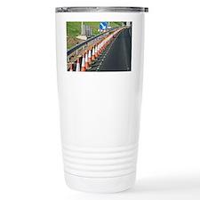 Motorway traffic cones - Travel Mug