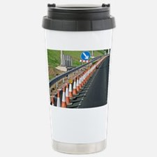 Motorway traffic cones - Travel Mug