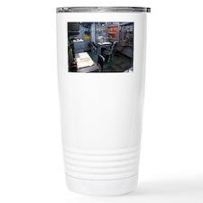 Operations room on USS Intrepid - Travel Mug