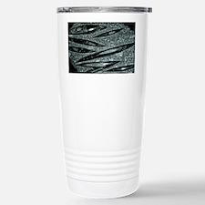 Orthoceras fossils - Stainless Steel Travel Mug
