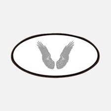 White Angel Wings Patches