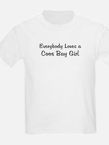 Coos Bay Girl Kids T-Shirt