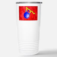 Protein synthesis, artwork - Travel Mug