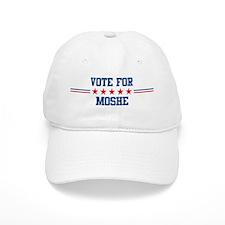 Vote for MOSHE Baseball Cap