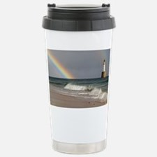 Rainbow and a lighthouse - Stainless Steel Travel