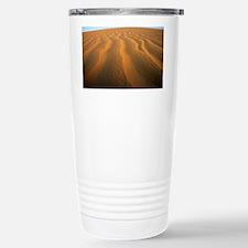 Ripples in sand - Stainless Steel Travel Mug