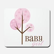 Baby Girl Mousepad