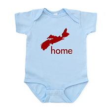 Red Infant Bodysuit