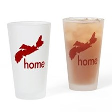 Red Drinking Glass