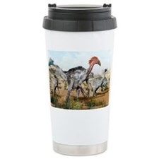 Therizinosaurus dinosuars - Travel Mug