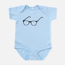 Eye Glasses Infant Bodysuit