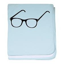 Eye Glasses baby blanket