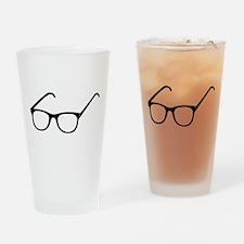 Eye Glasses Drinking Glass