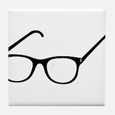 Eye Glasses Tile Coaster
