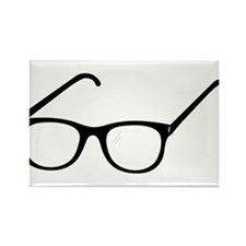 Eye Glasses Rectangle Magnet