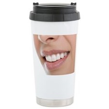 Woman's mouth - Travel Coffee Mug