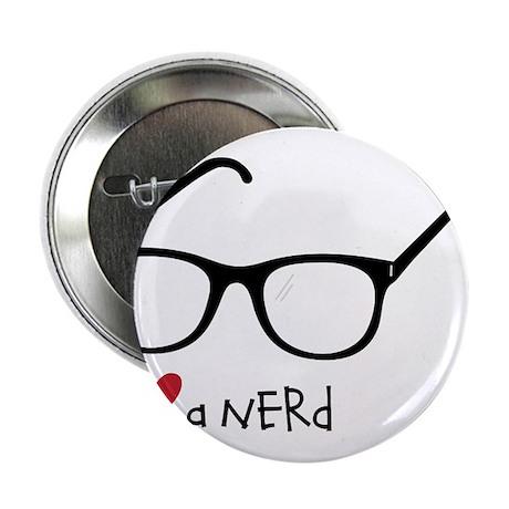 """Love A Nerd 2.25"""" Button"""