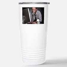 Work stress - Stainless Steel Travel Mug