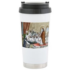 Averroes, Islamic physician - Travel Mug