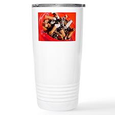 Cigarette butts - Travel Mug