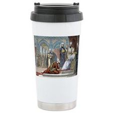 Avicenna, Islamic physician - Travel Mug