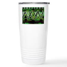 DNA helix - Travel Coffee Mug