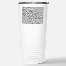 DNA molecular surface - Travel Mug