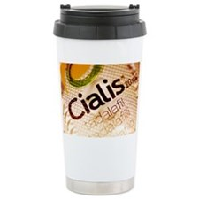 Cialis packaging - Travel Coffee Mug