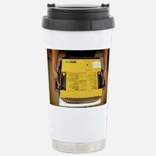 Defibrillator - Stainless Steel Travel Mug