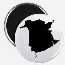 """Black 2.25"""" Magnet (100 pack)"""