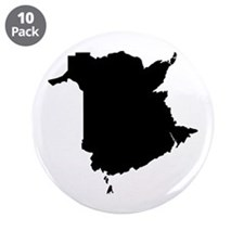 """Black 3.5"""" Button (10 pack)"""