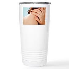 Neck pain - Travel Coffee Mug