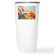 Peeling carrots - Travel Mug