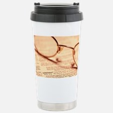 Reading glasses - Travel Mug