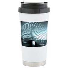 Slinky toy - Travel Coffee Mug