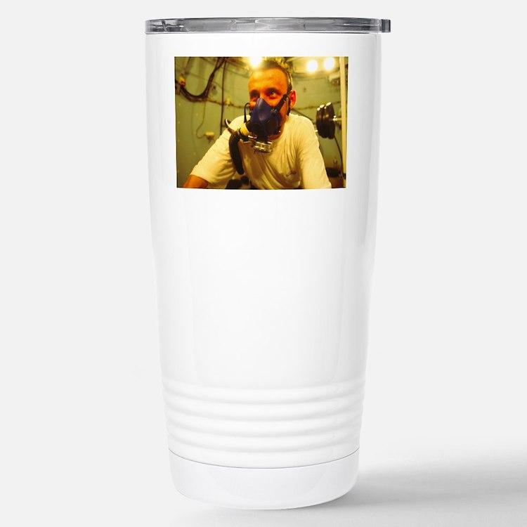 Hyperbaric training research - Travel Mug