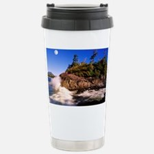 Moon and tide - Stainless Steel Travel Mug