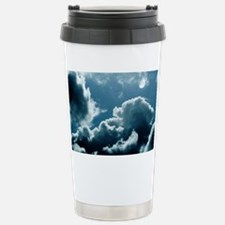 Moonlit clouds - Stainless Steel Travel Mug