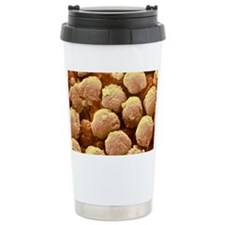 Neutrophil white blood cells, SEM - Travel Mug
