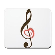 Love Music Mousepad