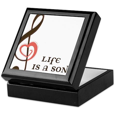Life Is A Song Keepsake Box