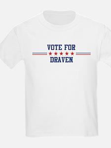 Vote for DRAVEN Kids T-Shirt