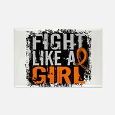 Fight Like a Girl 31.8 Leukemia Rectangle Magnet