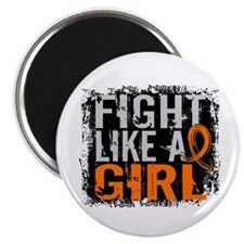 Fight Like a Girl 31.8 Leukemia Magnet