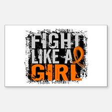 Fight Like a Girl 31.8 Leukemia Decal