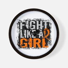 Fight Like a Girl 31.8 Leukemia Wall Clock