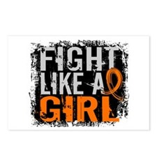 Fight Like a Girl 31.8 Leukemia Postcards (Package